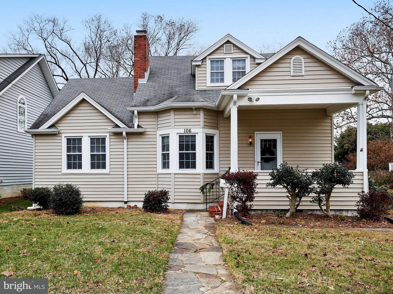 Single Family Home for Sale at 106 SOUTH CHERRY GROVE AVENUE 106 SOUTH CHERRY GROVE AVENUE Annapolis, Maryland 21401 United States