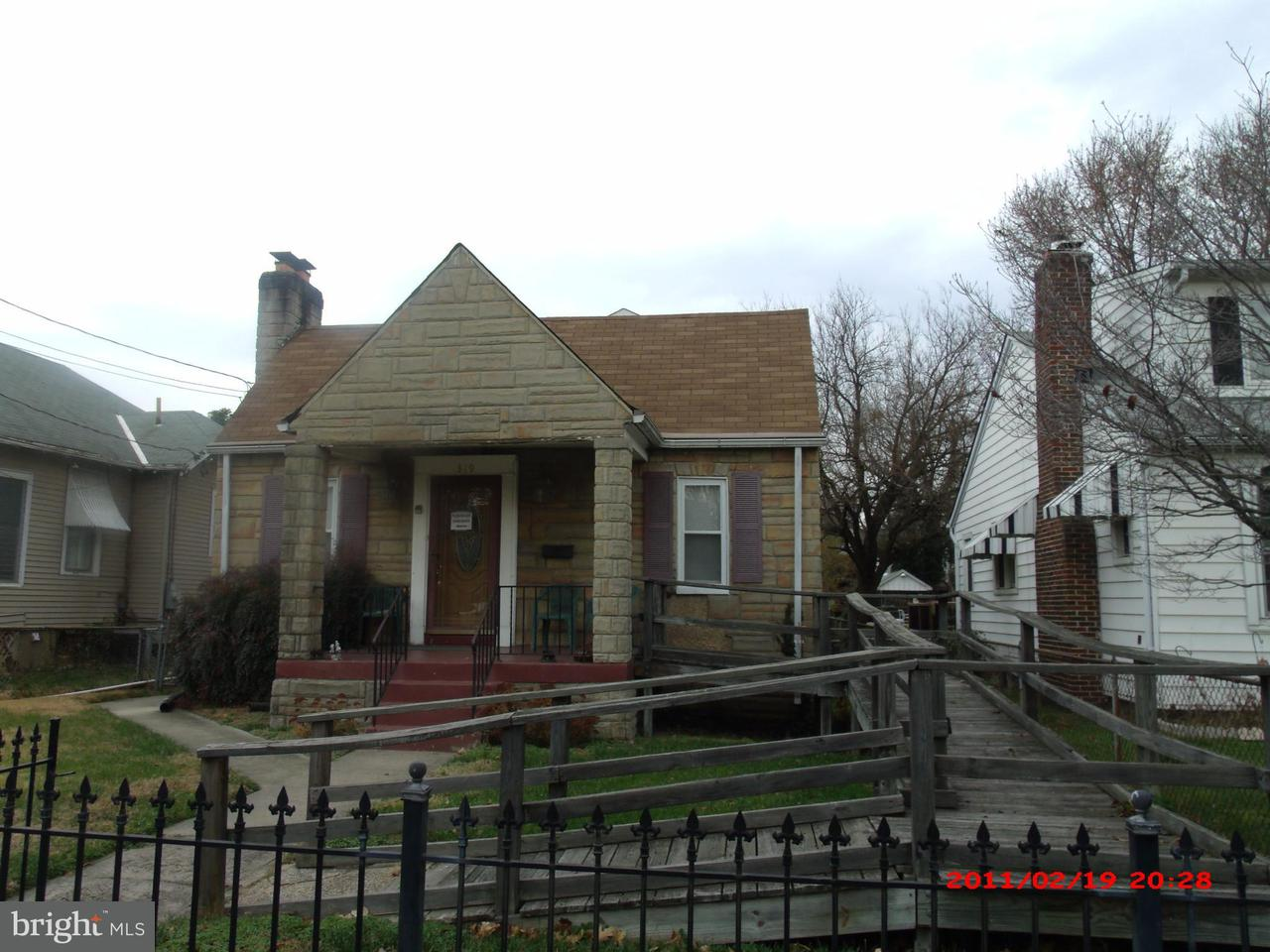 Single Family for Sale at 319 Quackenbos St NW Washington, District Of Columbia 20011 United States