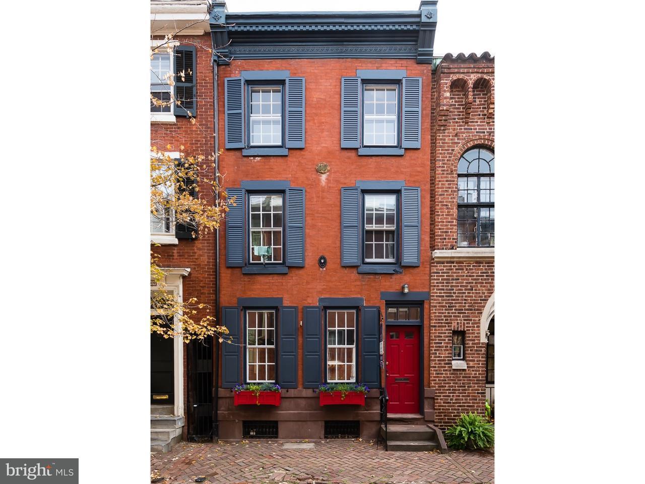 Maison accolée pour l Vente à 311 S SMEDLEY Street Philadelphia, Pennsylvanie 19103 États-Unis
