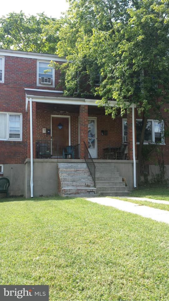 Single Family for Sale at 3909 Eierman Ave Baltimore, Maryland 21206 United States