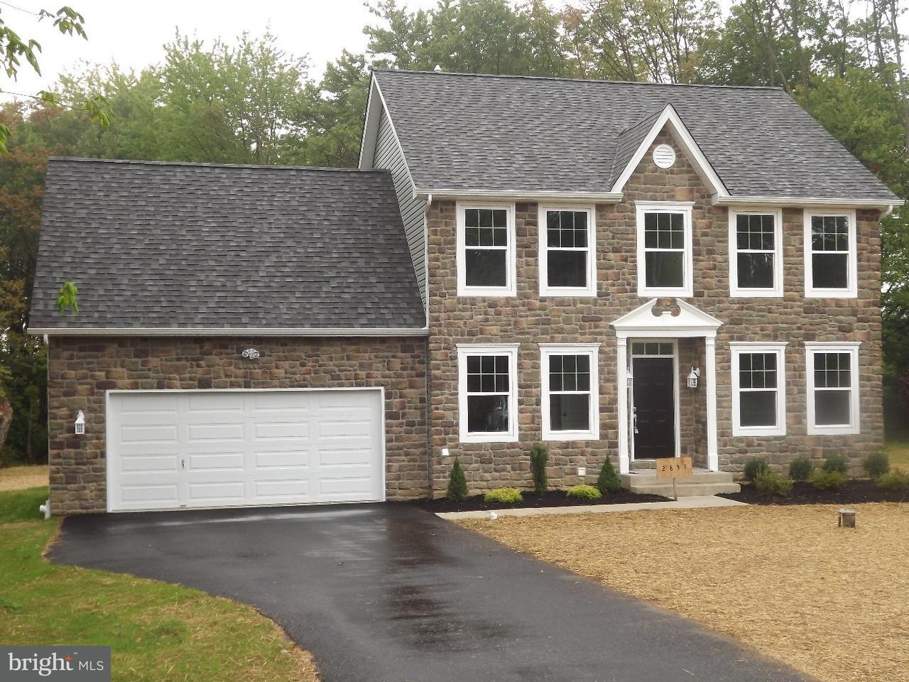 Single Family Home for Sale at 1849 GALLOWS HILL Road Kintnersville, Pennsylvania 18930 United States