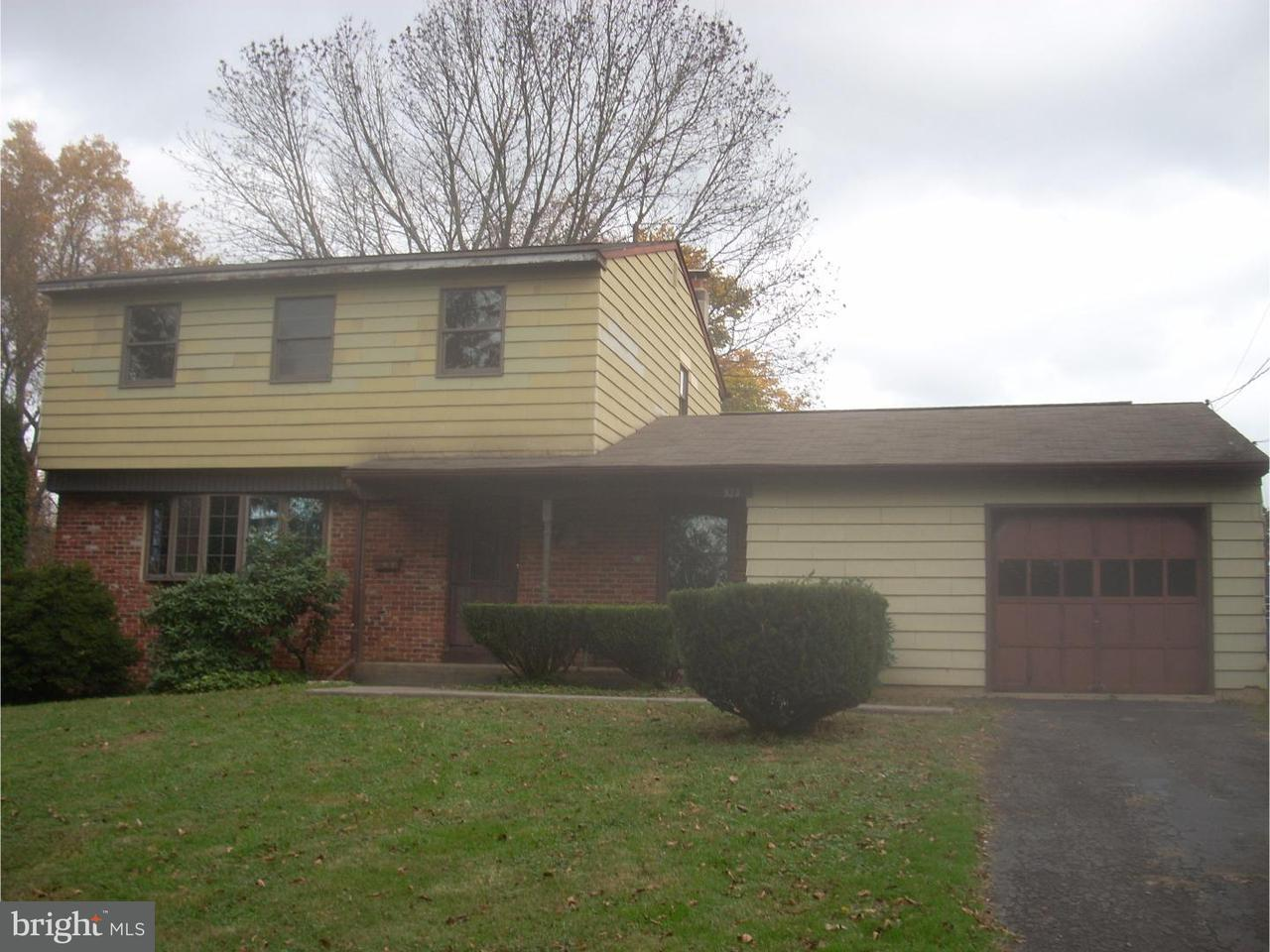 Частный односемейный дом для того Продажа на 823 WALNUT Avenue Hulmeville, Пенсильвания 19047 Соединенные Штаты