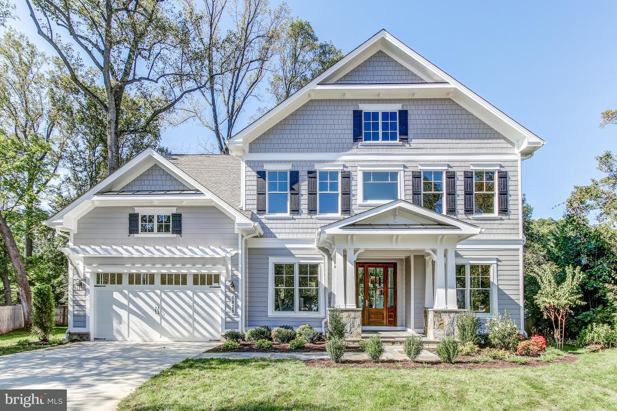 Single Family Home for Sale at 6828 GRANBY Street 6828 GRANBY Street Bethesda, Maryland 20817 United States
