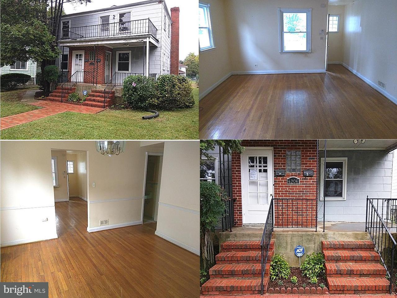 Single Family for Sale at 4206 Penhurst Ave Baltimore, Maryland 21215 United States