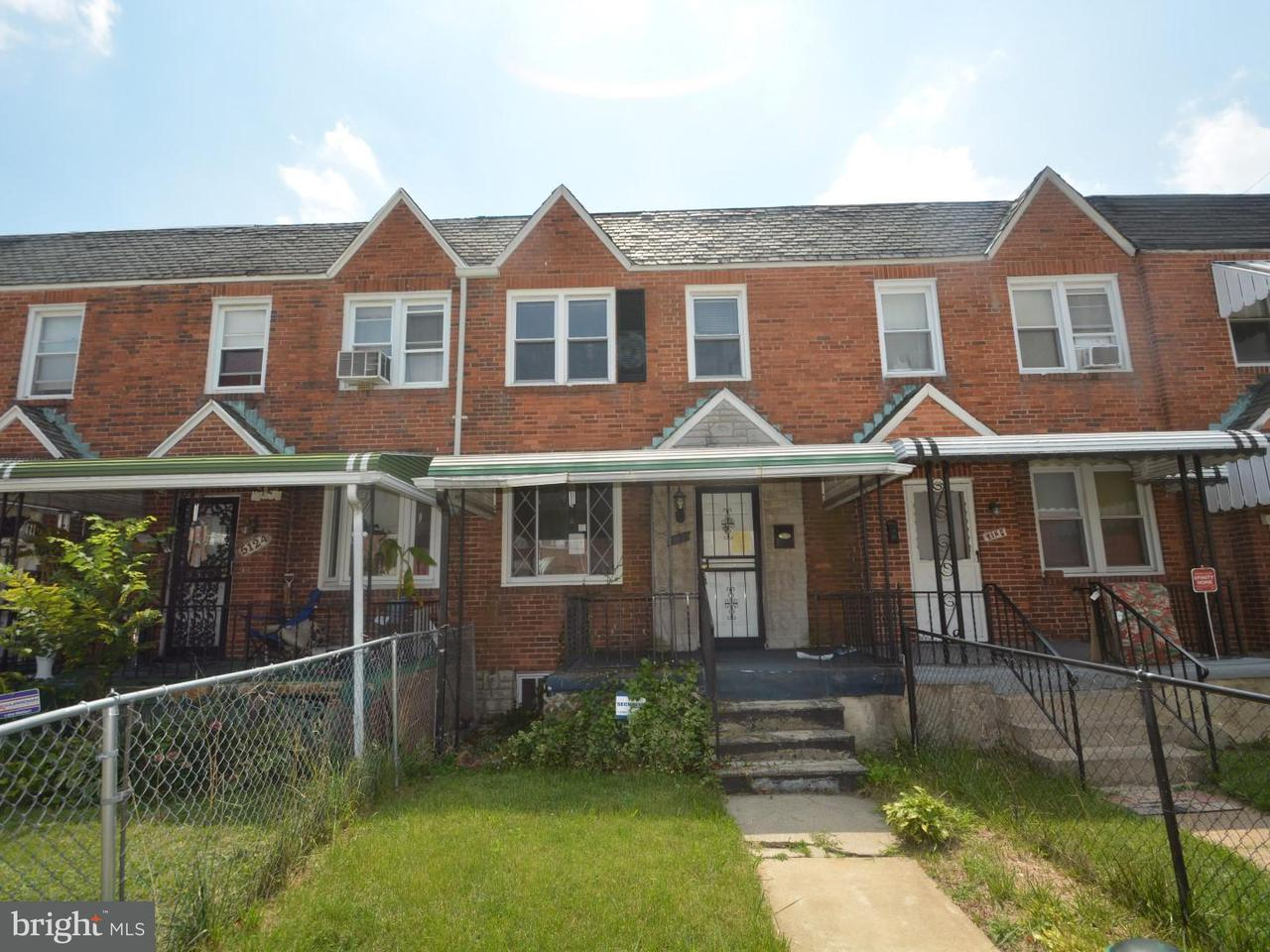 Single Family for Sale at 5126 Arbutus Ave Baltimore, Maryland 21215 United States