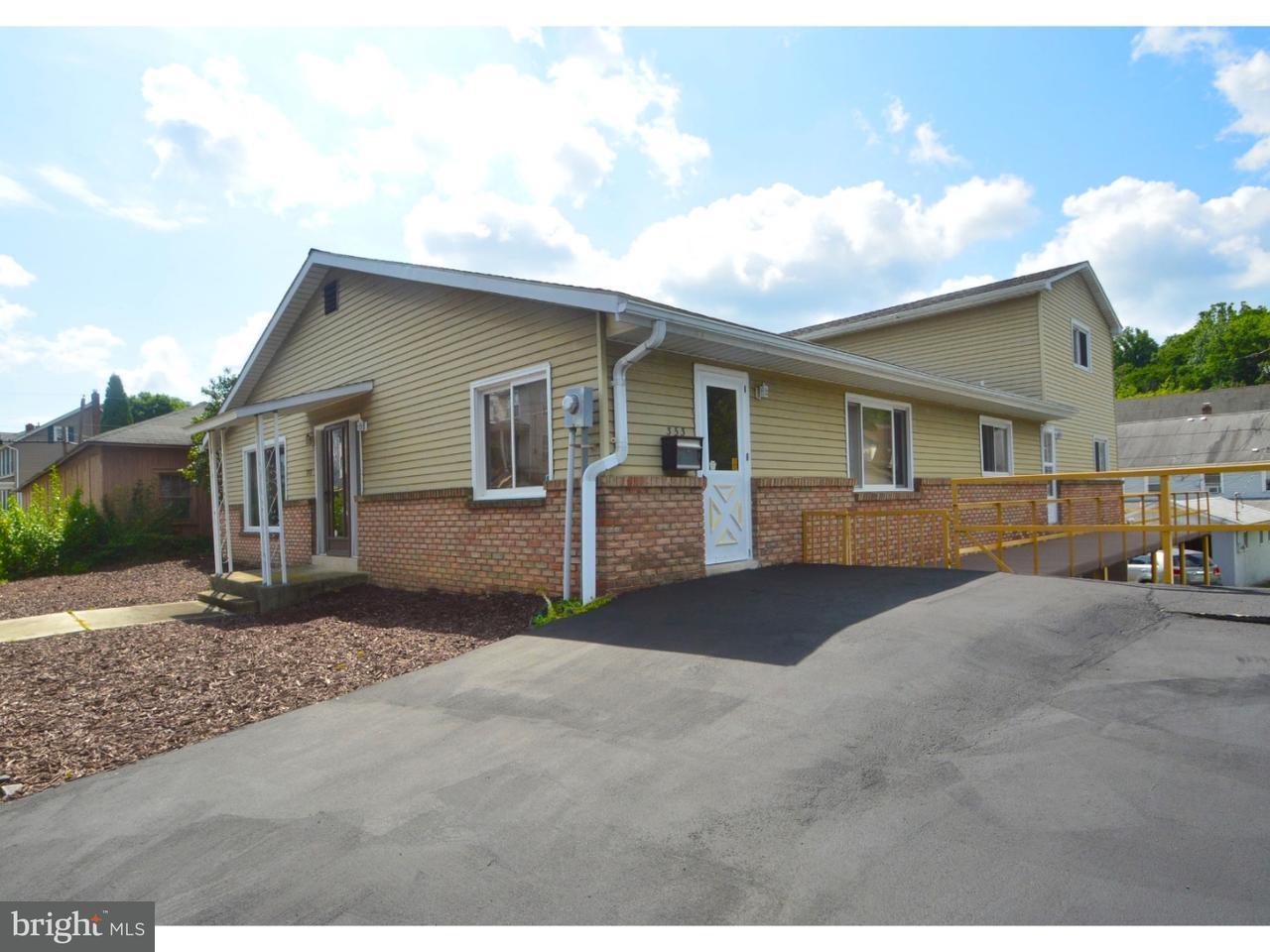 Частный односемейный дом для того Продажа на 353 CHESTNUT Street Slatington, Пенсильвания 18080 Соединенные Штаты