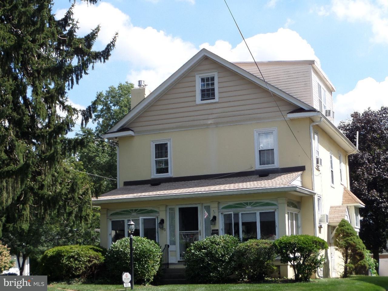 Частный односемейный дом для того Продажа на 555 ABINGTON Avenue Glenside, Пенсильвания 19038 Соединенные Штаты