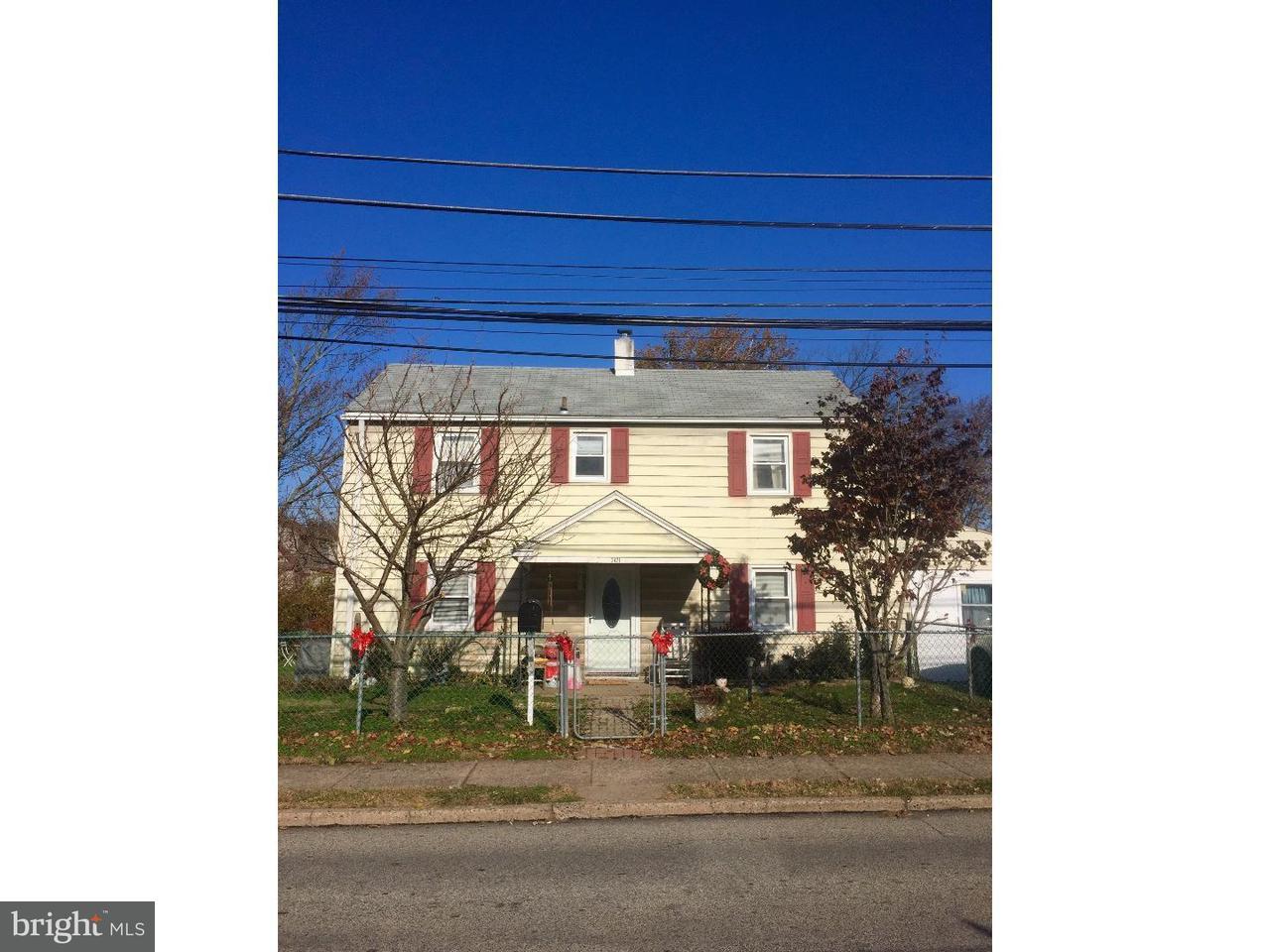 Частный односемейный дом для того Аренда на 2421 WOODLAND Road Abington, Пенсильвания 19001 Соединенные Штаты