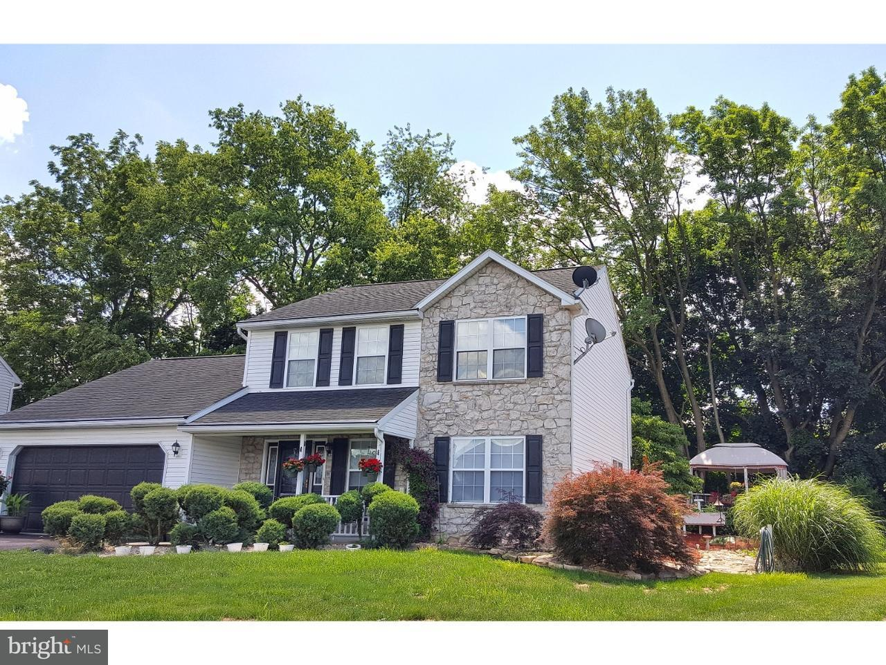 Частный односемейный дом для того Продажа на 119 CORNERSTONE Drive Blandon, Пенсильвания 19510 Соединенные Штаты