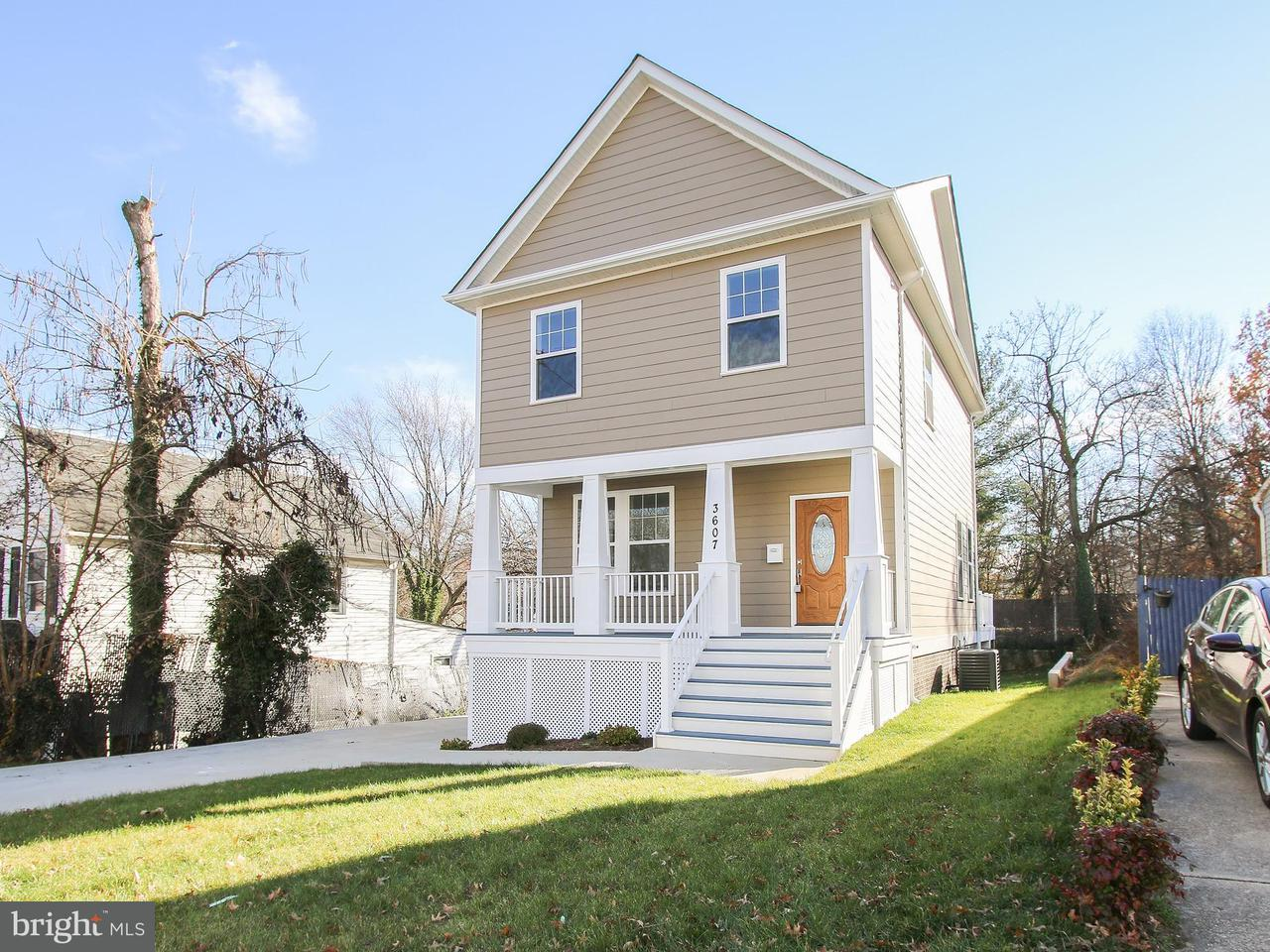 Single Family Home for Sale at 3607 TAYLOR Street 3607 TAYLOR Street Brentwood, Maryland 20722 United States