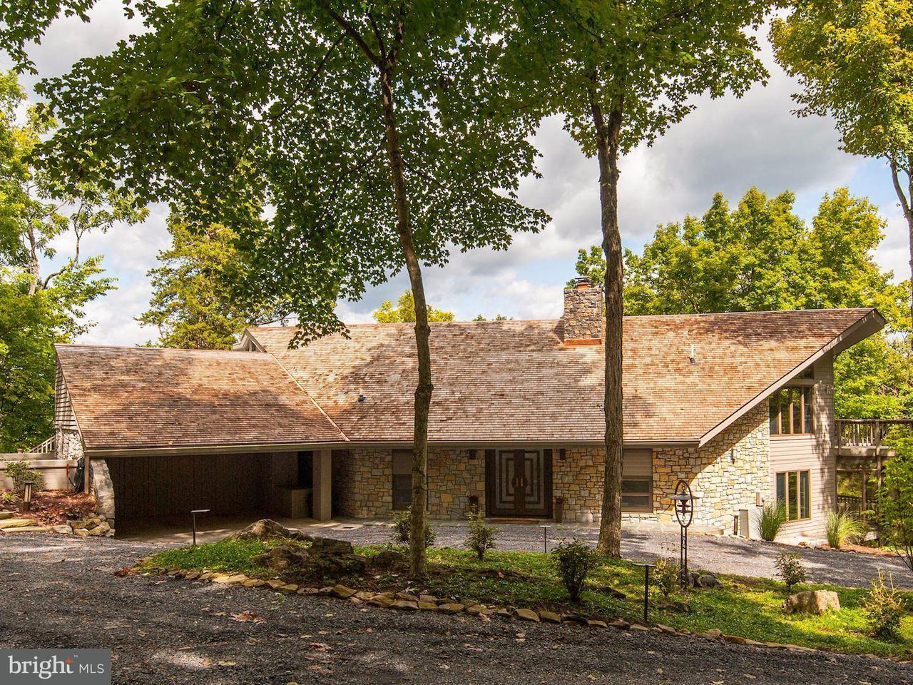 Частный односемейный дом для того Продажа на 265 WOODCLIFF Lane 265 WOODCLIFF Lane Front Royal, Виргиния 22630 Соединенные Штаты