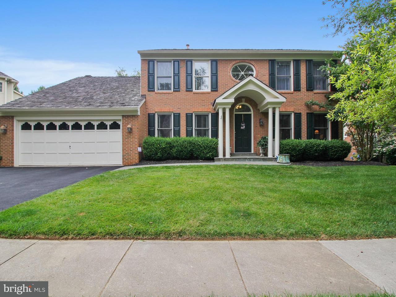独户住宅 为 销售 在 12013 BLACKBERRY TER 12013 BLACKBERRY TER North Potomac, 马里兰州 20878 美国