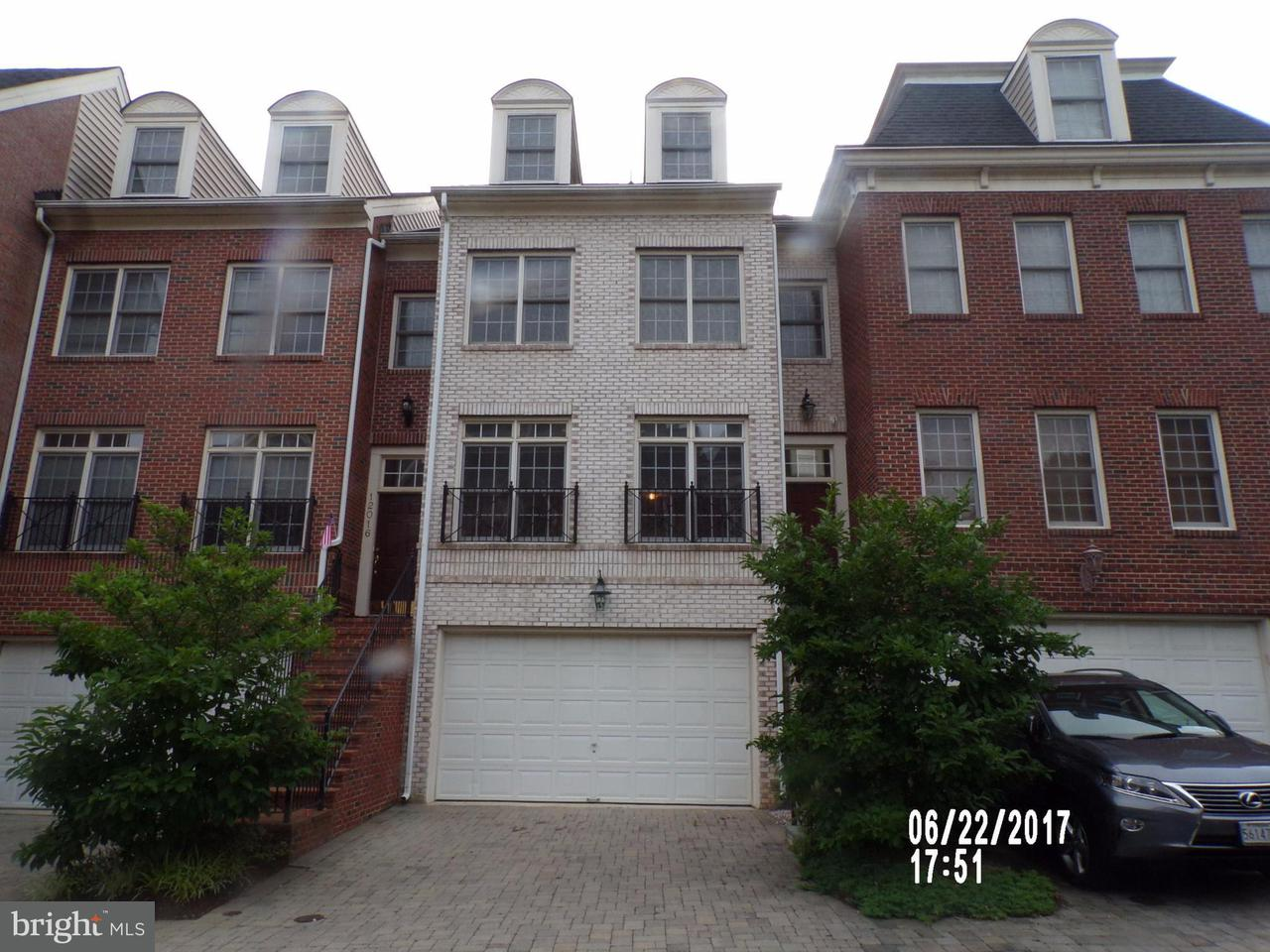 Townhouse for Sale at 12018 MONTROSE PARK Place 12018 MONTROSE PARK Place Rockville, Maryland 20852 United States