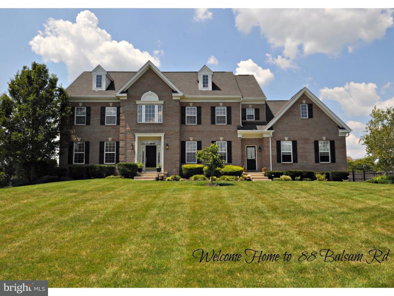 Casa Unifamiliar por un Venta en 88 BALSAM Road Lumberton, Nueva Jersey 08048 Estados Unidos