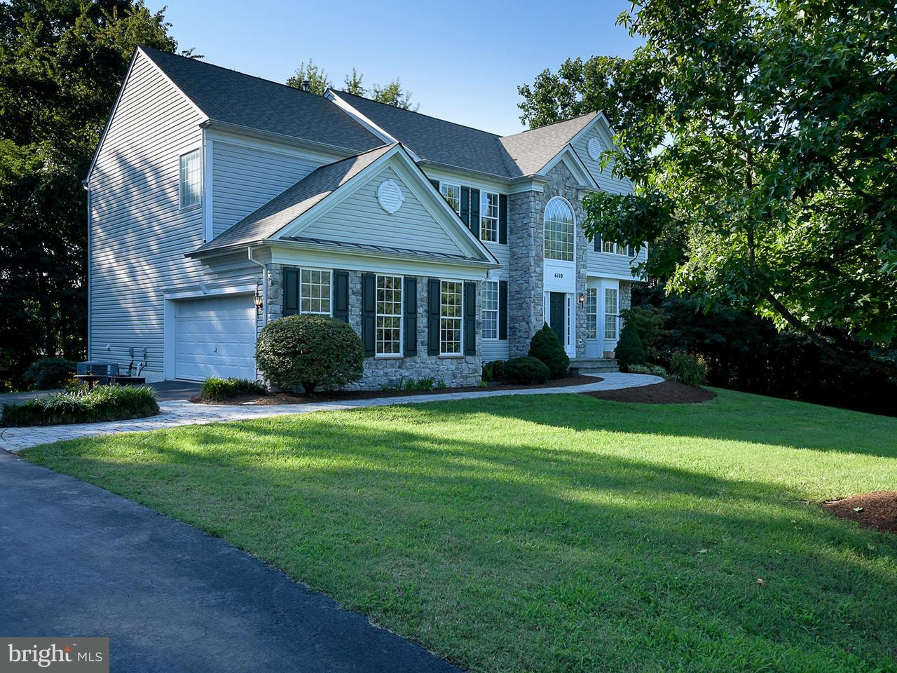 Maison unifamiliale pour l Vente à 6110 TRACEYS OVERLOOK Road 6110 TRACEYS OVERLOOK Road Tracys Landing, Maryland 20779 États-Unis