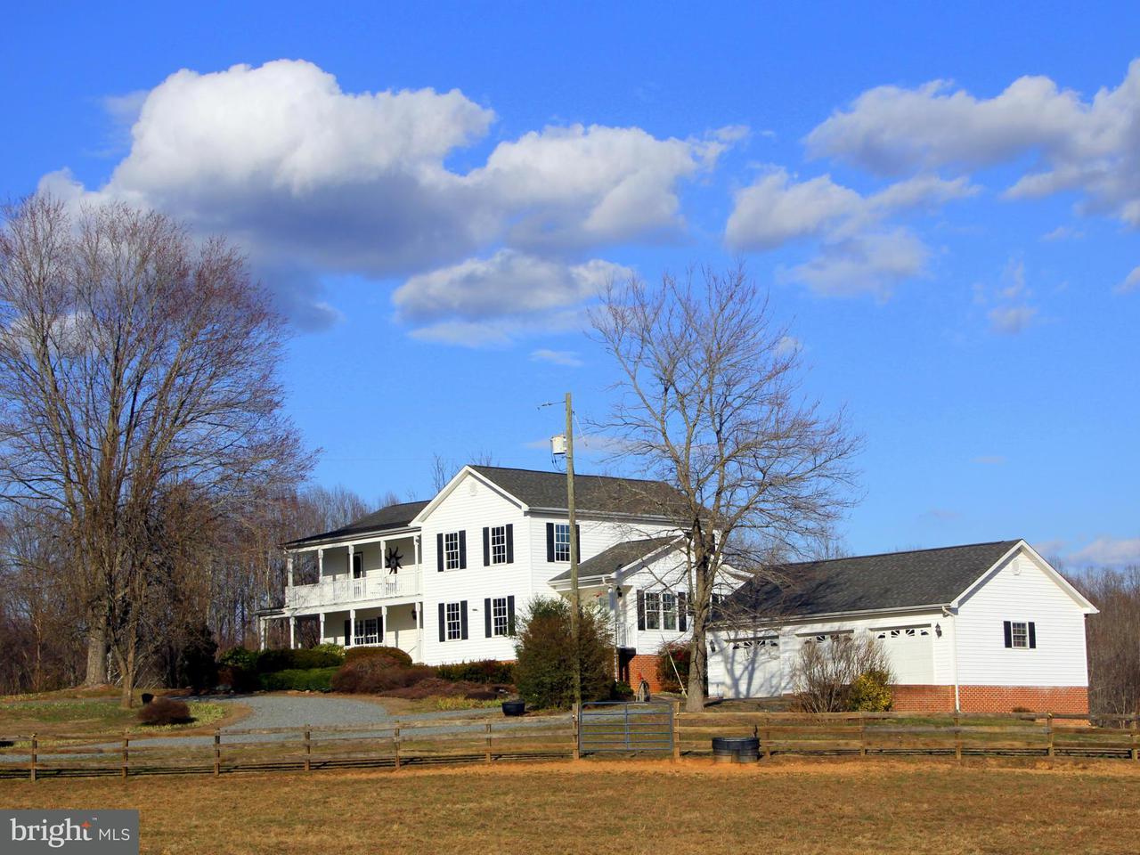 Ferme pour l Vente à 6428 BLUE RIDGE TPKE 6428 BLUE RIDGE TPKE Rochelle, Virginia 22738 États-Unis