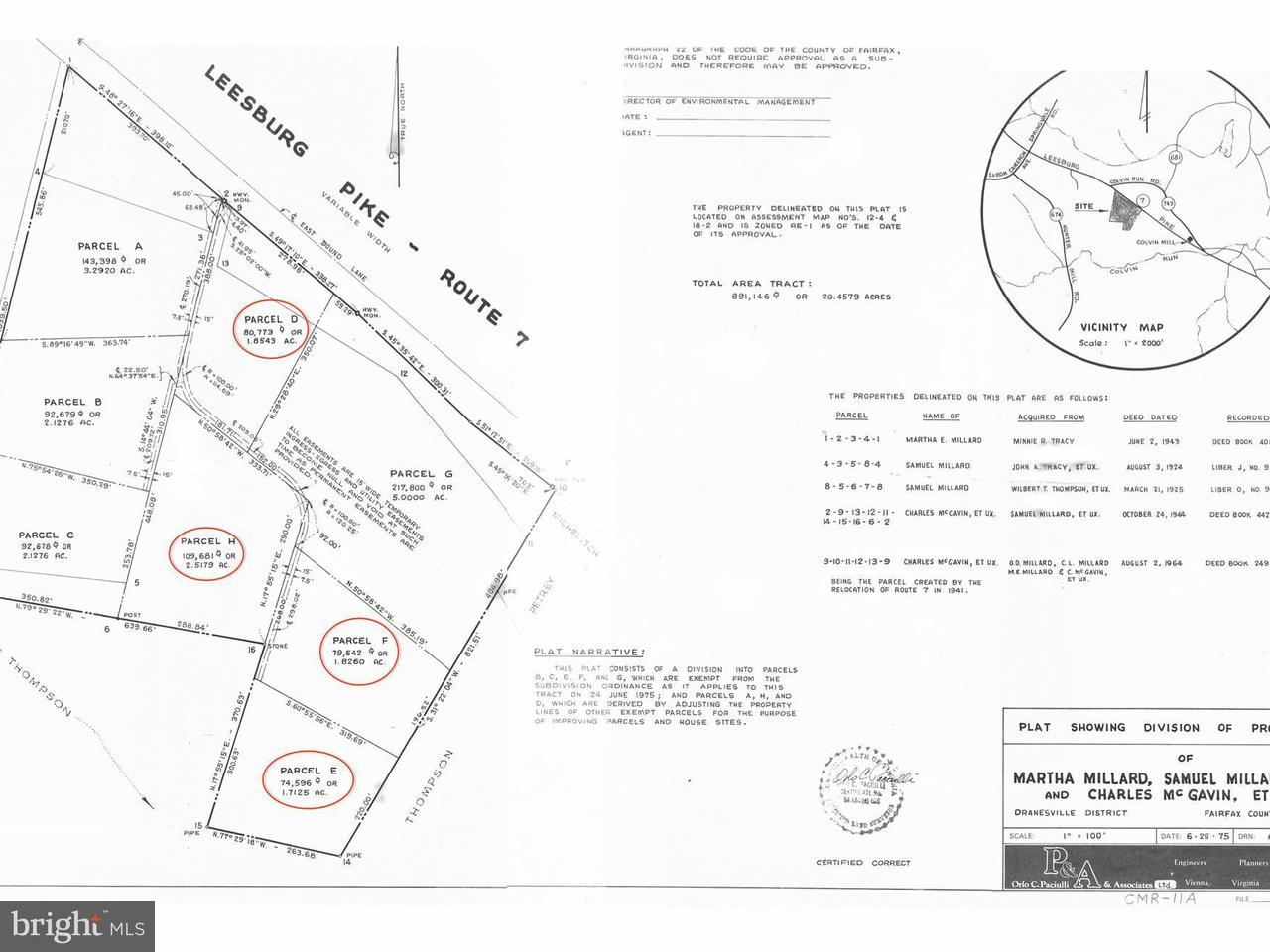Land for Sale at 10231 Leesburg Pike 10231 Leesburg Pike Vienna, Virginia 22182 United States