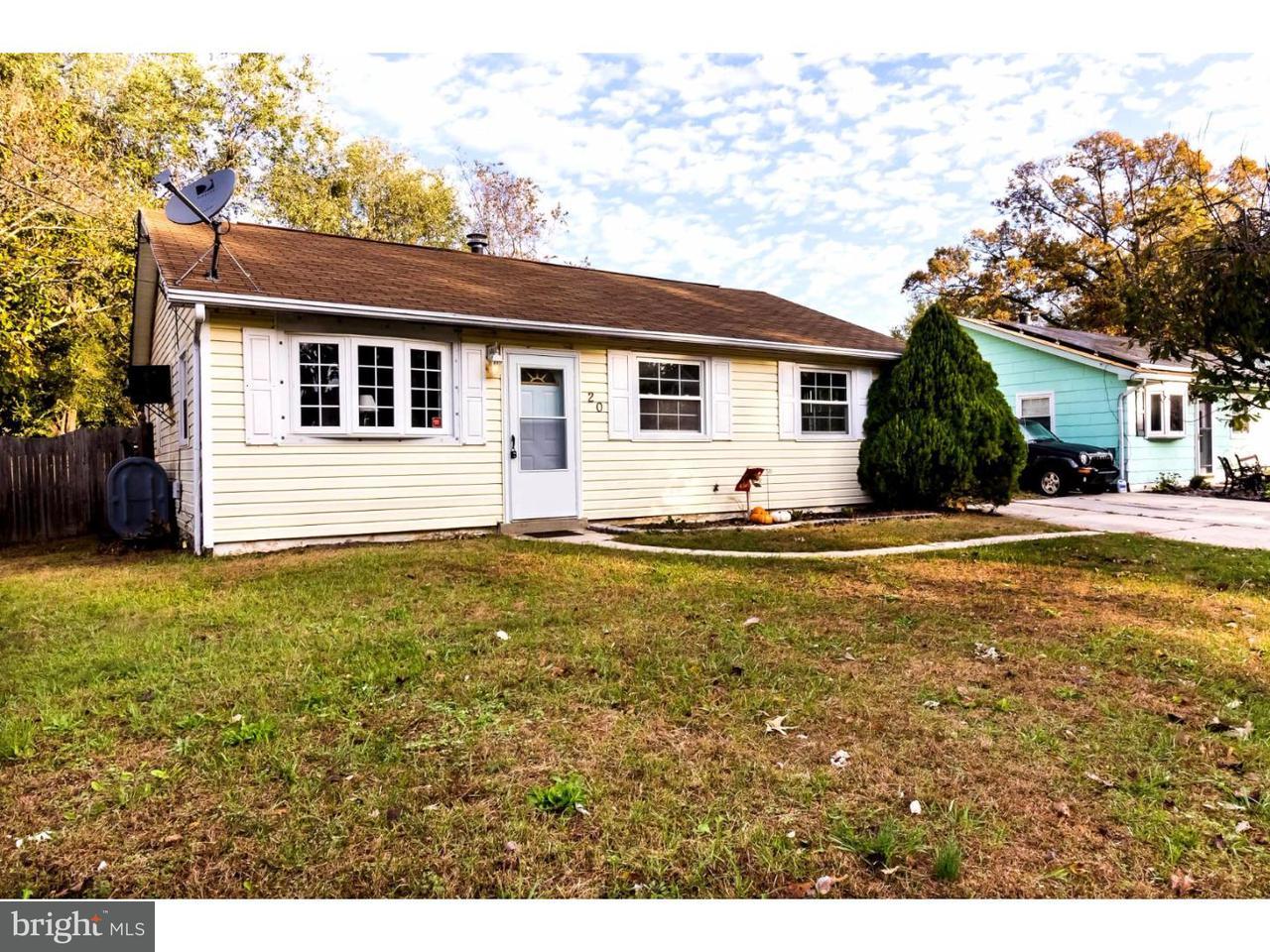 Maison unifamiliale pour l à louer à 20 JEROME Avenue Erial, New Jersey 08081 États-Unis