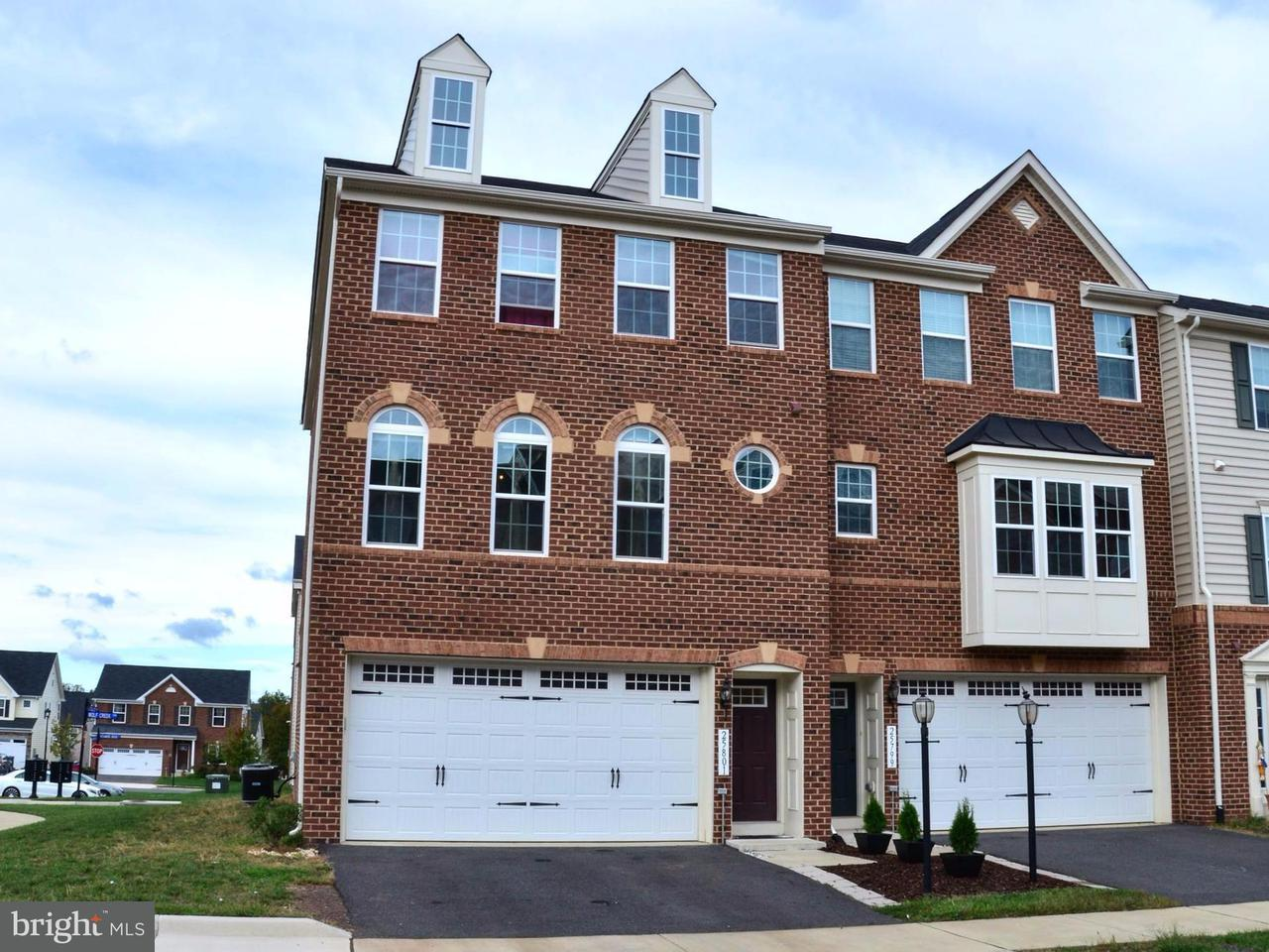 Townhouse for Sale at 25801 DOUBLE BRIDLE TER 25801 DOUBLE BRIDLE TER Aldie, Virginia 20105 United States