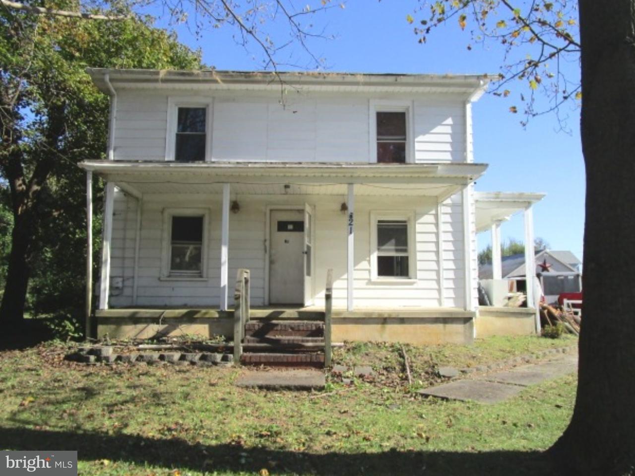 Maison unifamiliale pour l Vente à 21 SOUTH Avenue Shiloh, New Jersey 08353 États-Unis