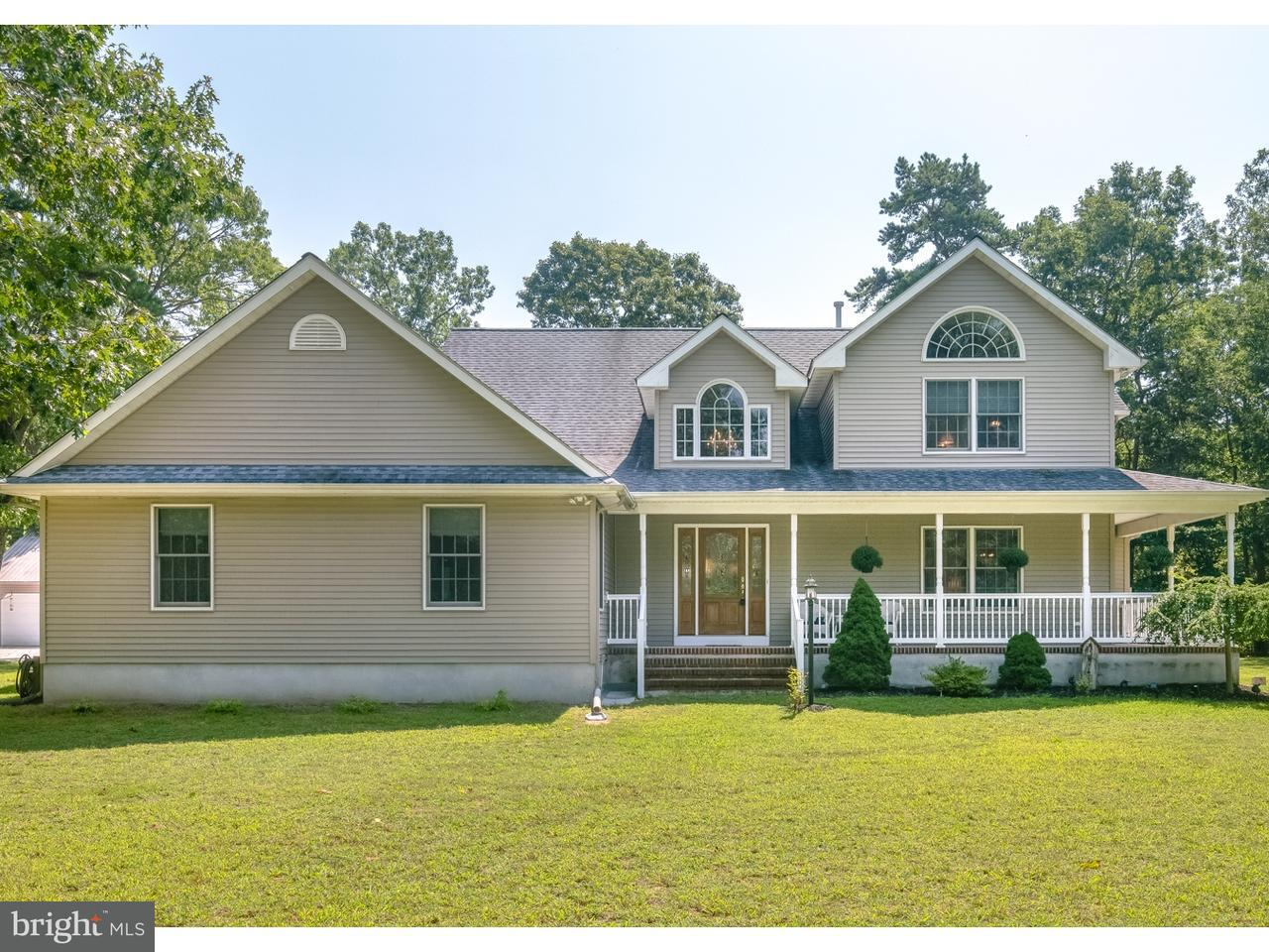 Maison unifamiliale pour l Vente à 174 WATSONS MILL Road Alloway, New Jersey 08318 États-Unis