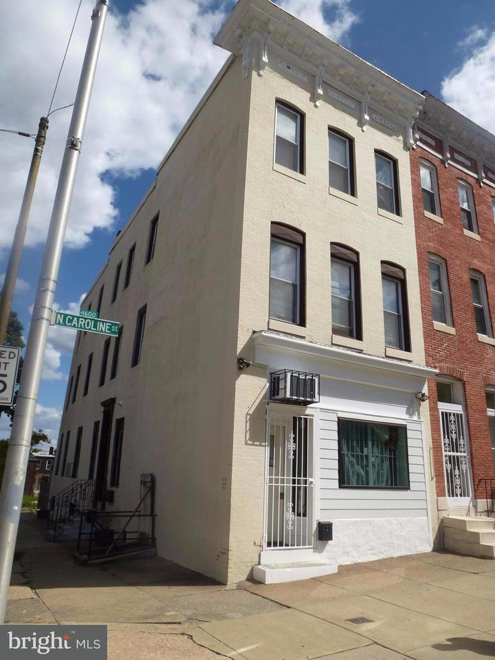 Single Family for Sale at 1541 Caroline St Baltimore, Maryland 21213 United States
