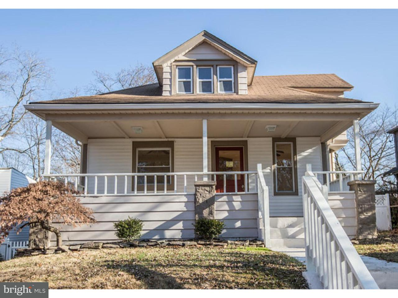 Single Family Home for Sale at 137 S LOGAN Avenue Audubon, New Jersey 08106 United States