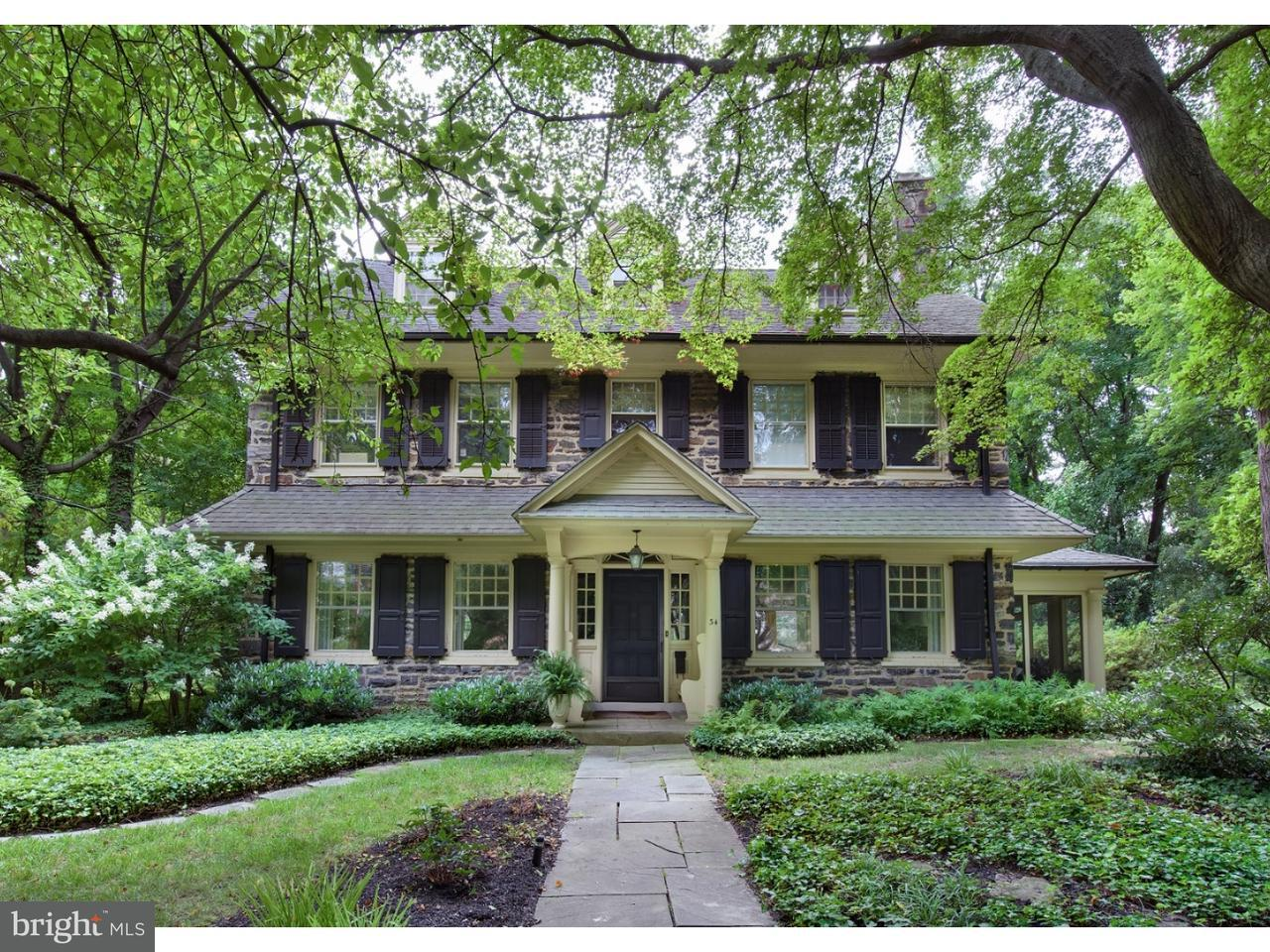 Single Family Home for Sale at 34 LLANBERRIS Road Bala Cynwyd, Pennsylvania 19004 United States