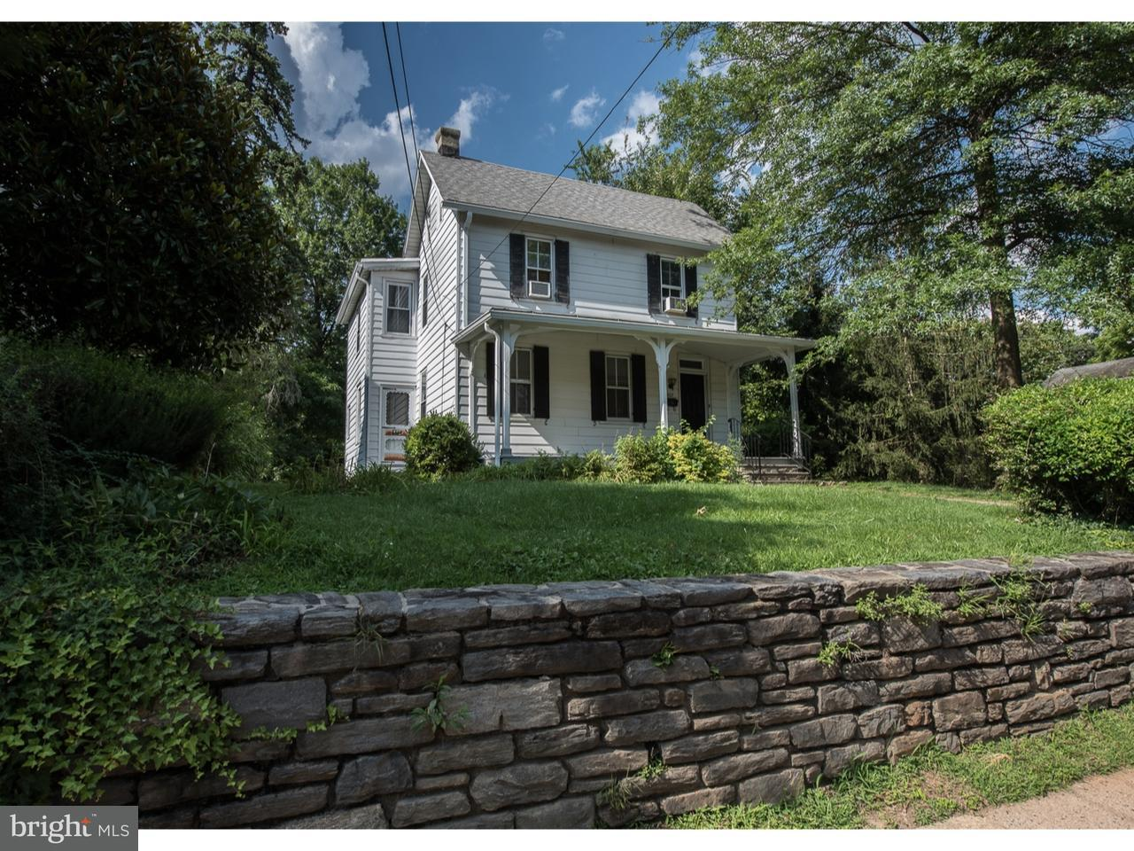 Частный односемейный дом для того Аренда на 507 OLD LANCASTER Road Haverford, Пенсильвания 19041 Соединенные Штаты