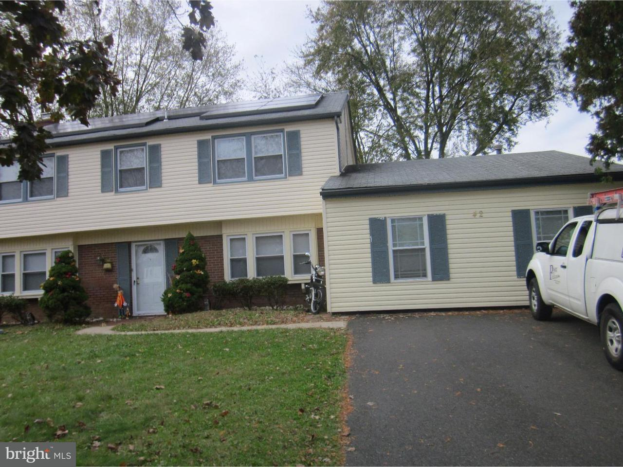 Single Family Home for Rent at 42 NORTHGATE Lane Willingboro, New Jersey 08046 United States