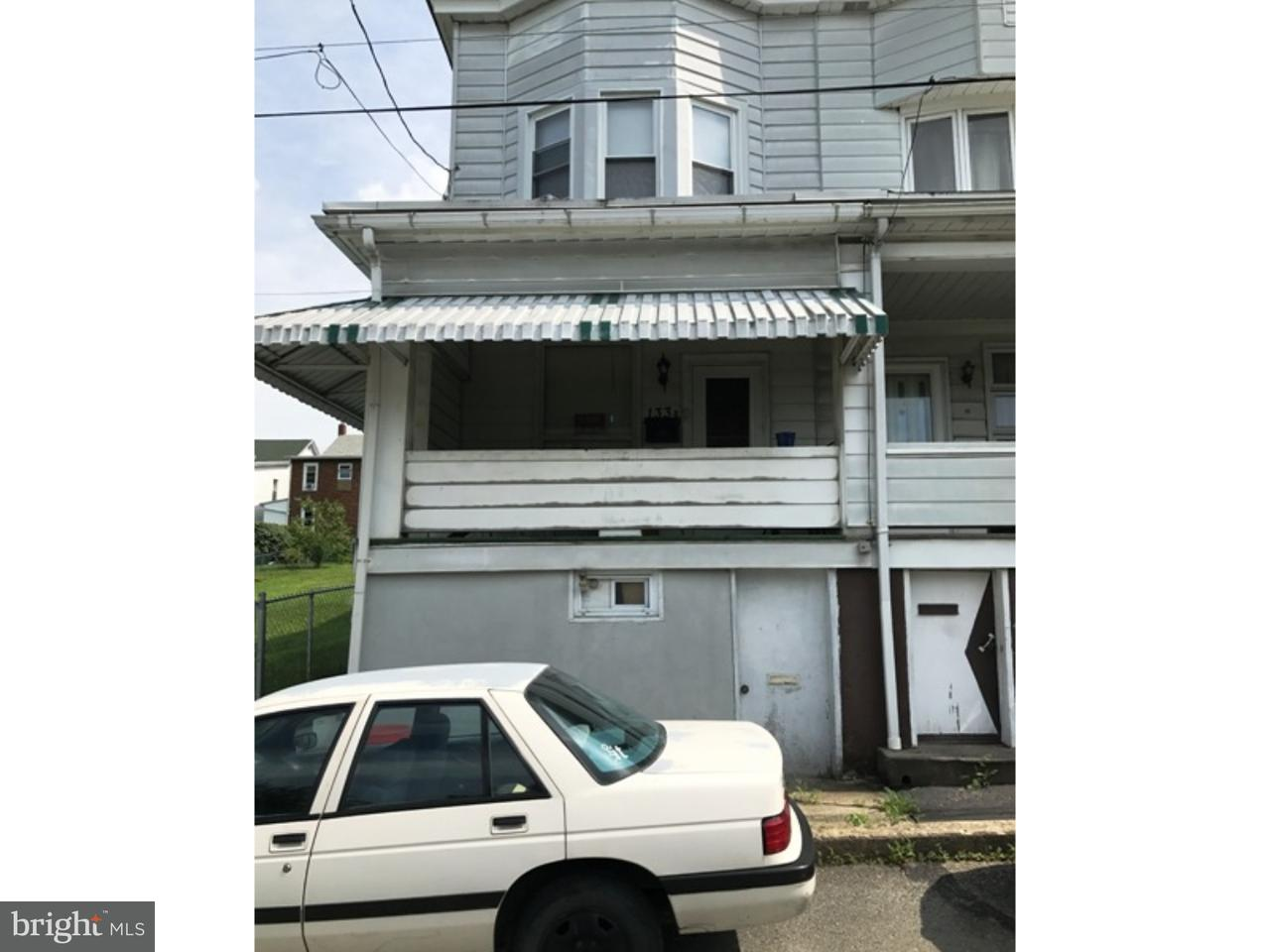 Townhouse for Sale at 133 W EARLY Avenue Coaldale, Pennsylvania 18218 United States
