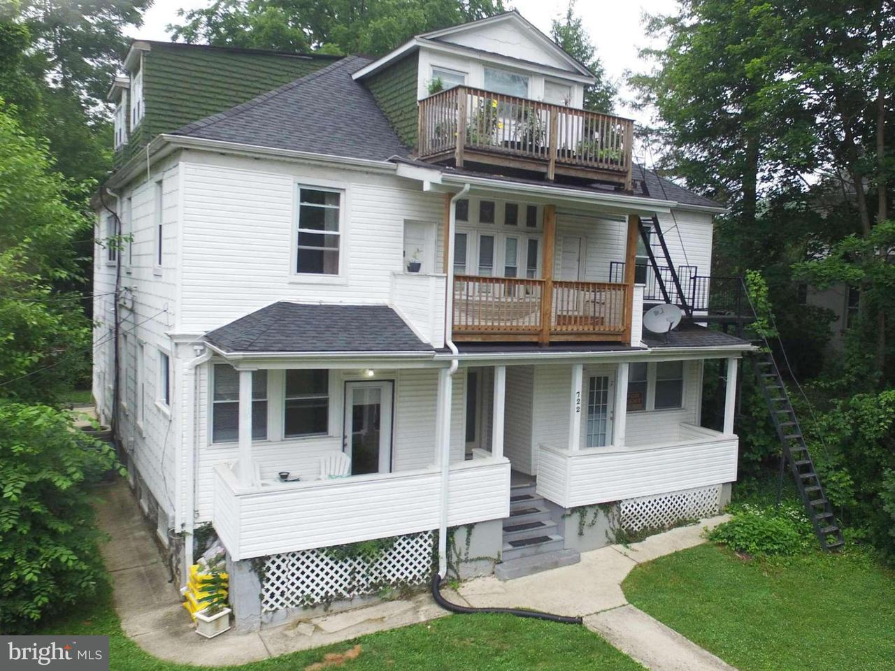 Huis voor meerdere gezinnen voor Verkoop een t 722 GLADSTONE Avenue 722 GLADSTONE Avenue Baltimore, Maryland 21210 Verenigde Staten