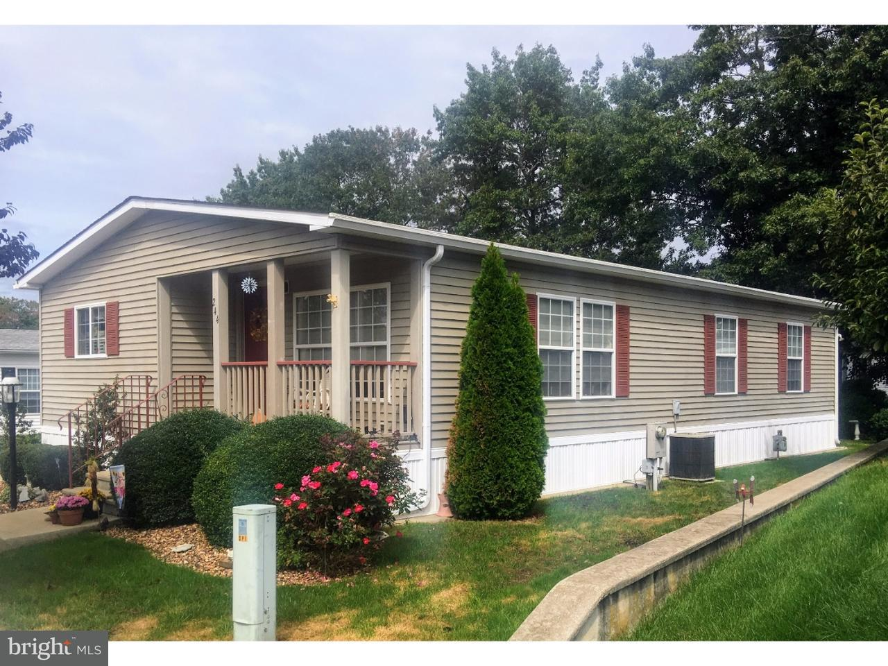 Mobile Homes for Sale at 1616 PENNSYLVANIA AVE #244 Vineland, New Jersey 08361 United States