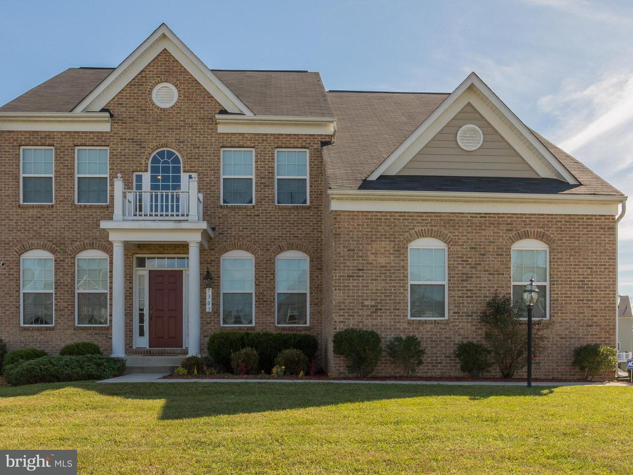 Maison unifamiliale pour l Vente à 7303 CHICAMUXEN Court 7303 CHICAMUXEN Court Brandywine, Maryland 20613 États-Unis