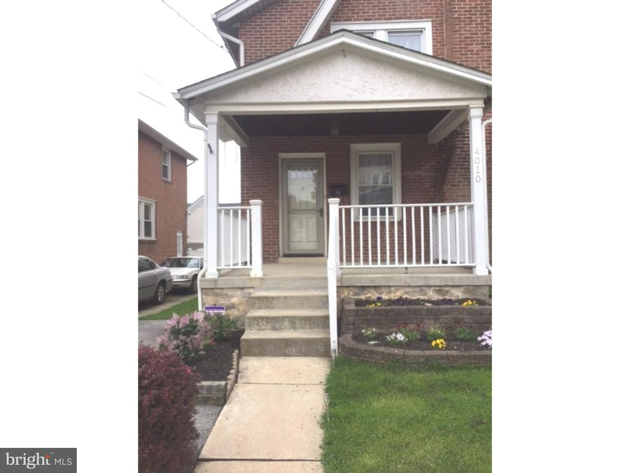 Townhouse for Rent at 4010 BERRY Avenue Drexel Hill, Pennsylvania 19026 United States