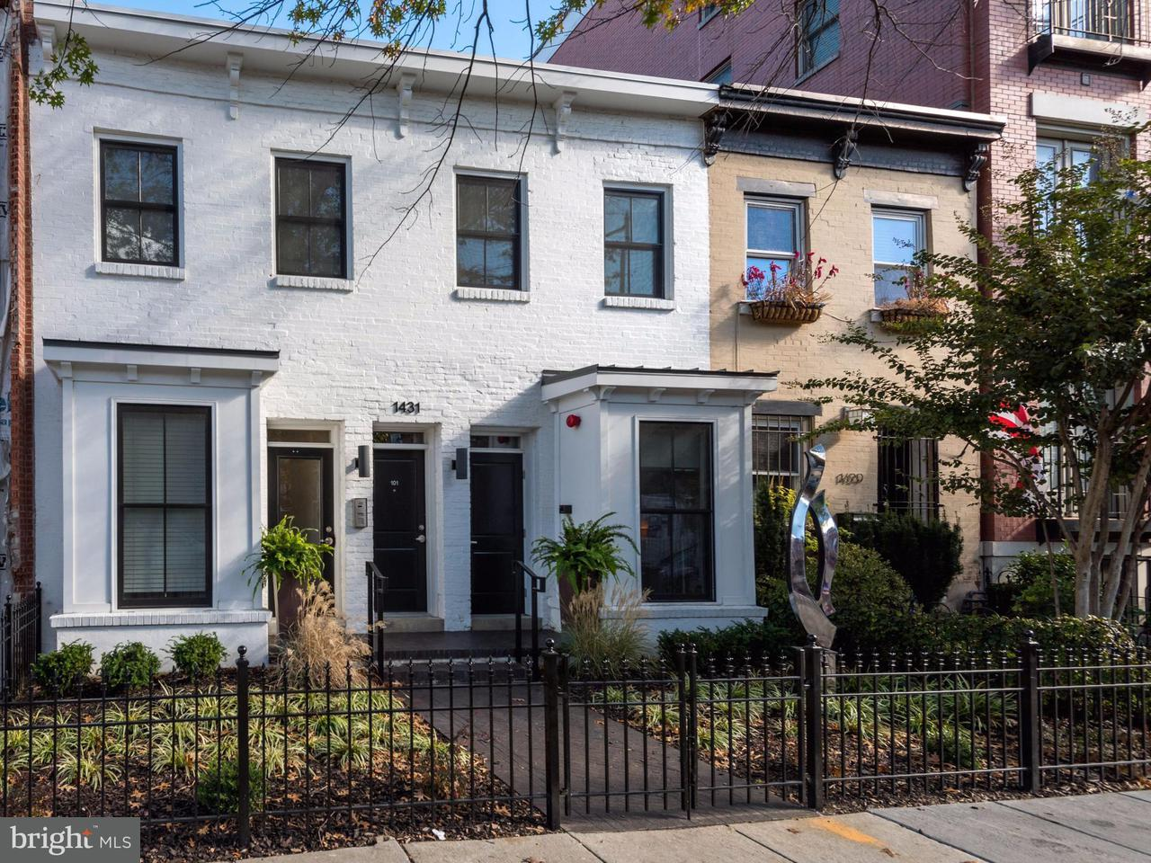 Townhouse for Sale at 1431 11TH ST NW #302 1431 11TH ST NW #302 Washington, District Of Columbia 20001 United States