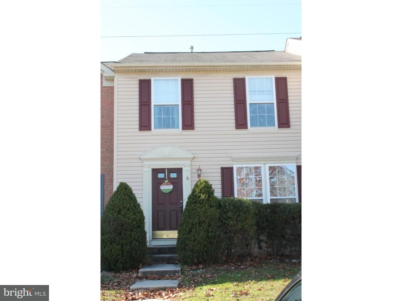 Townhouse for Rent at 4 COLTS NECK Drive Sicklerville, New Jersey 08081 United States