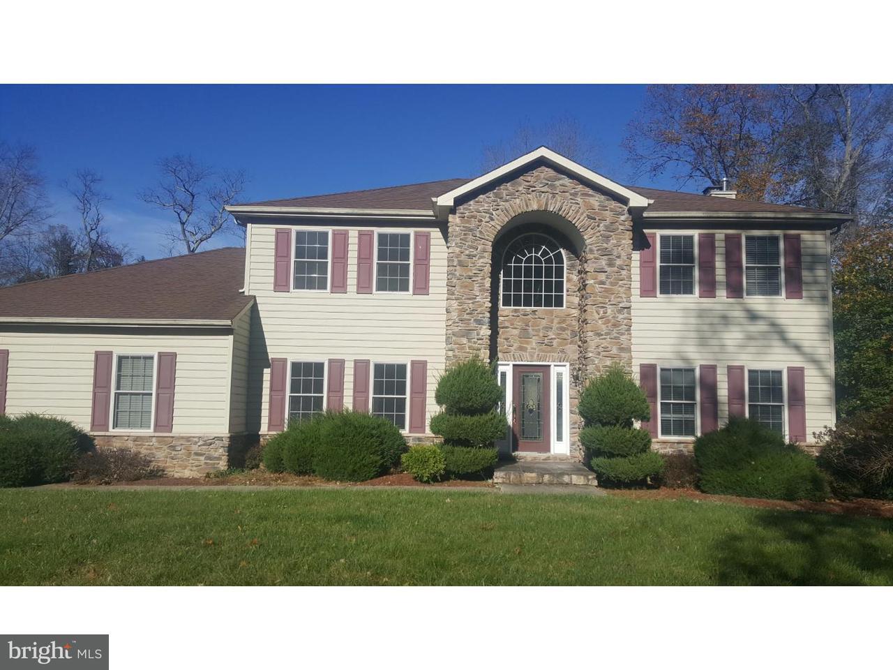 Maison unifamiliale pour l Vente à 437 LEWISTOWN Road Juliustown, New Jersey 08022 États-Unis