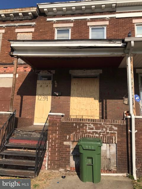 Single Family for Sale at 1234 Bonaparte Ave Baltimore, Maryland 21218 United States