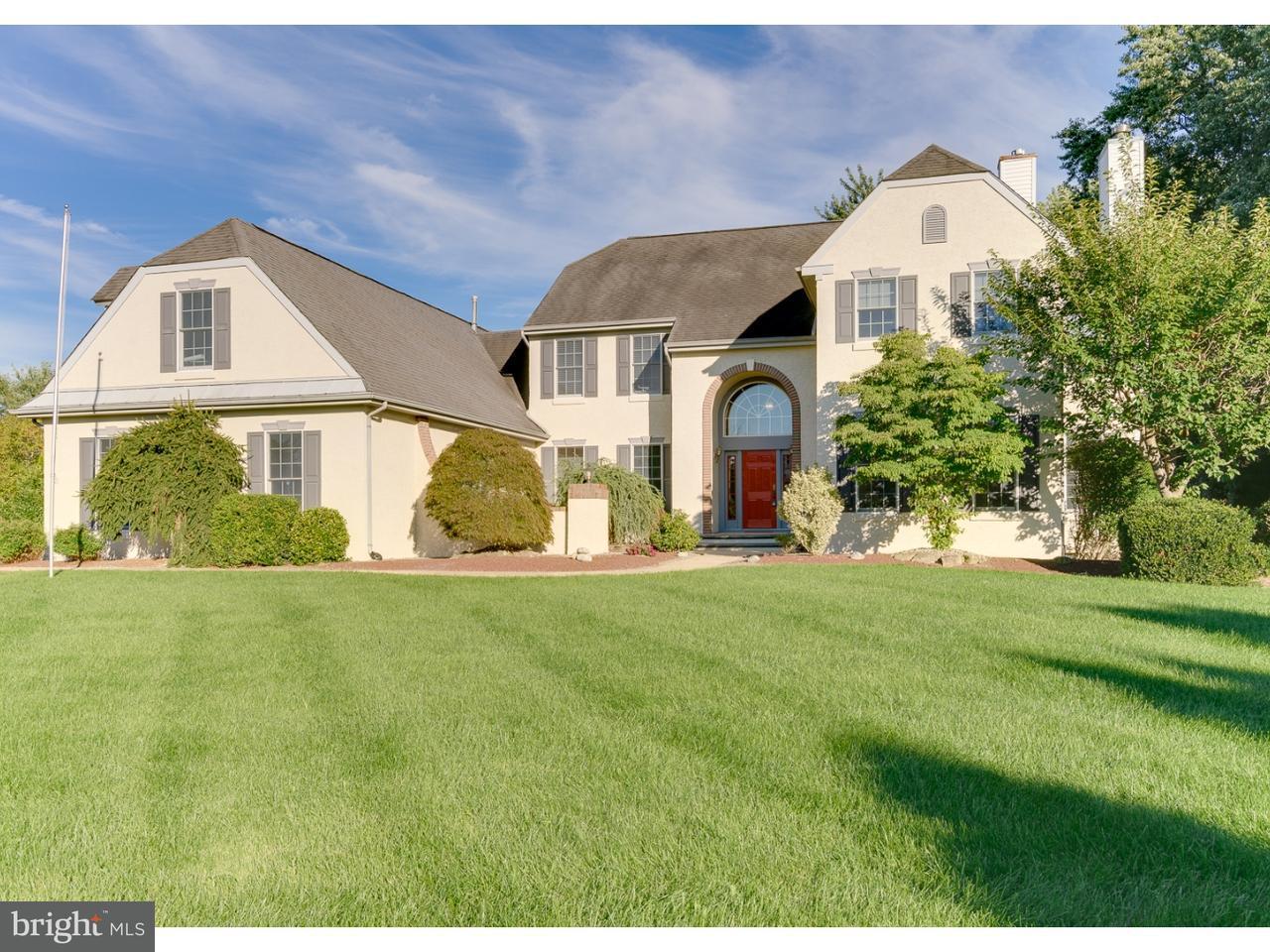 Частный односемейный дом для того Продажа на 46 WYCKLOW Court Robbinsville, Нью-Джерси 08691 Соединенные ШтатыВ/Около: Robbinsville Township