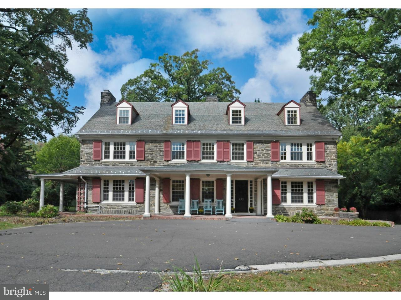 Частный односемейный дом для того Продажа на 333 BENT Road Wyncote, Пенсильвания 19095 Соединенные Штаты
