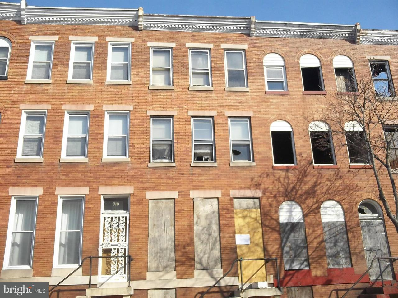 Single Family for Sale at 720 21st St Baltimore, Maryland 21218 United States