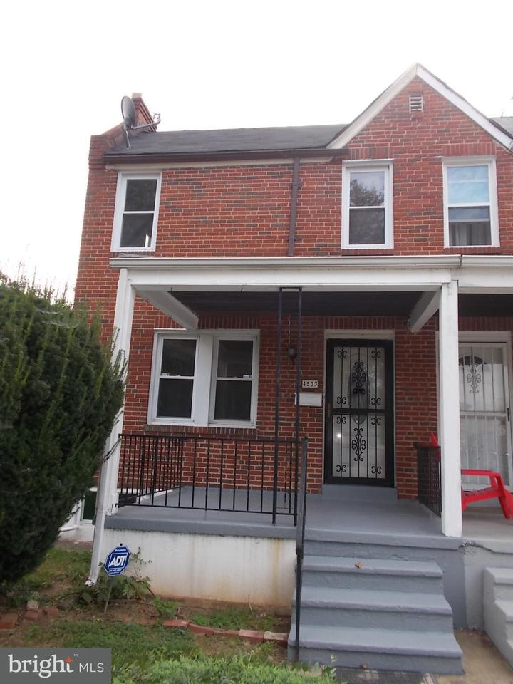 Single Family for Sale at 4503 Rogers Ave Baltimore, Maryland 21215 United States