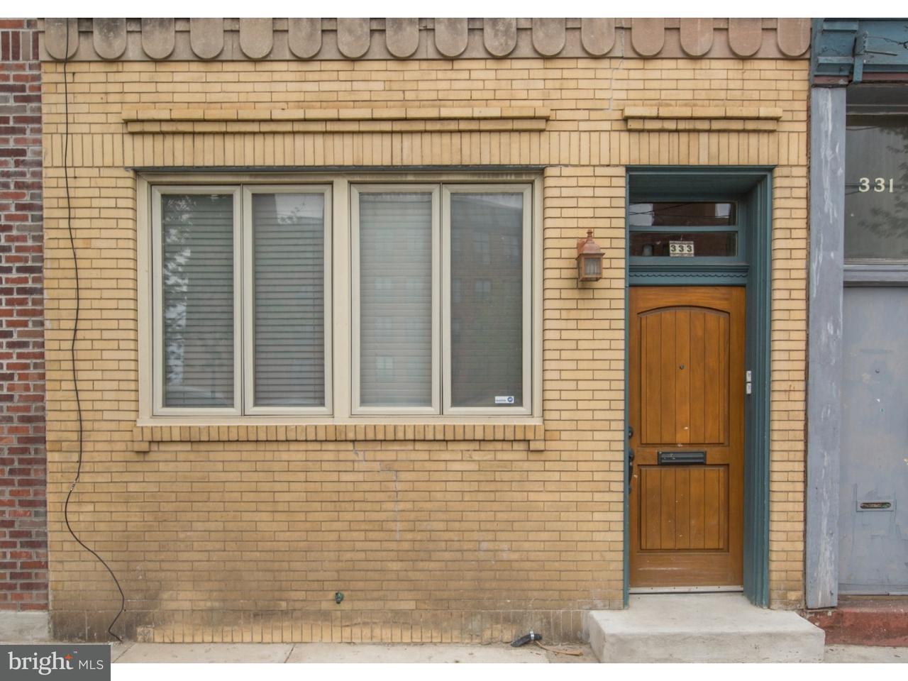 联栋屋 为 出租 在 333 W GIRARD AVE #2ND FL 费城, 宾夕法尼亚州 19123 美国