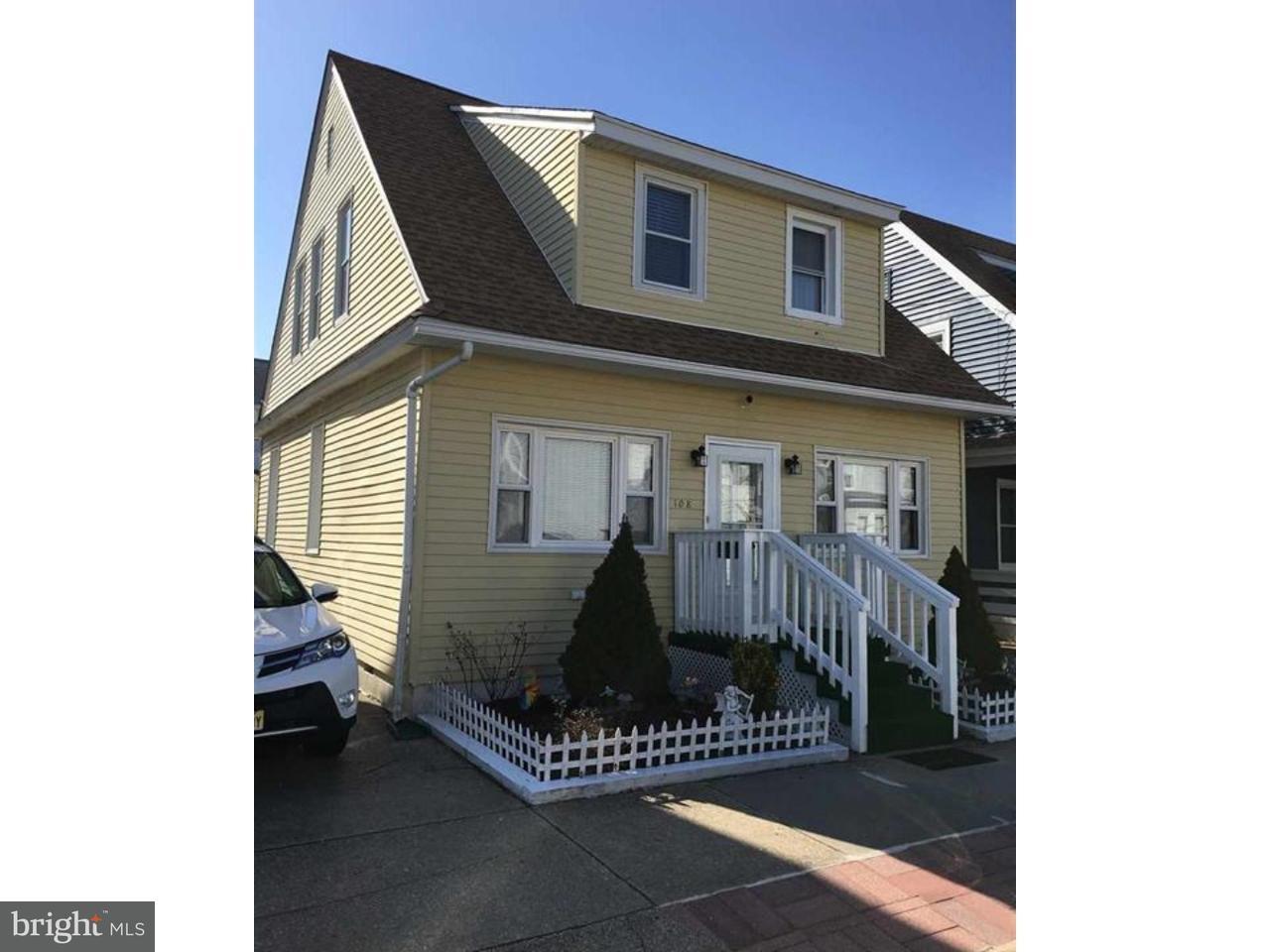 Частный односемейный дом для того Продажа на 108 N NEWPORT Avenue Ventnor City, Нью-Джерси 08406 Соединенные Штаты