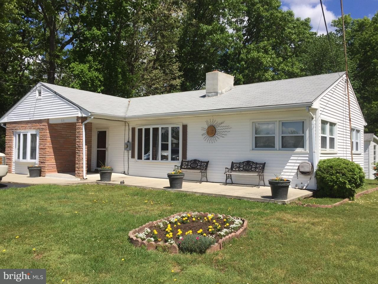 Single Family Home for Sale at 713 IRVING Avenue Upper Deerfield Township, New Jersey 08302 United States