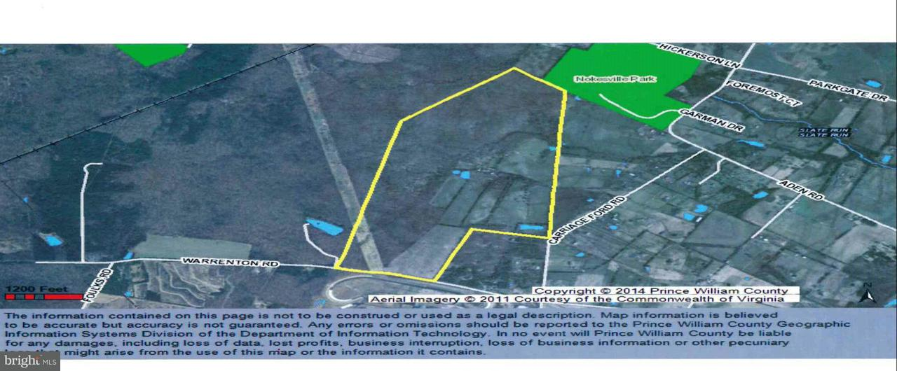 Land for Sale at 13204 WARRENTON Road 13204 WARRENTON Road Nokesville, Virginia 20181 United States