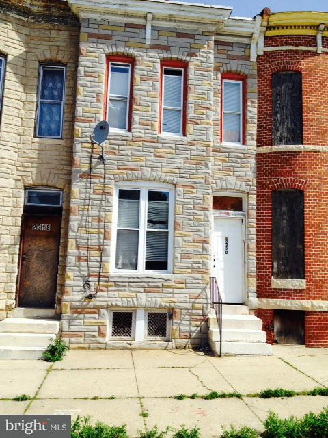 Single Family for Sale at 2320 Federal St Baltimore, Maryland 21213 United States