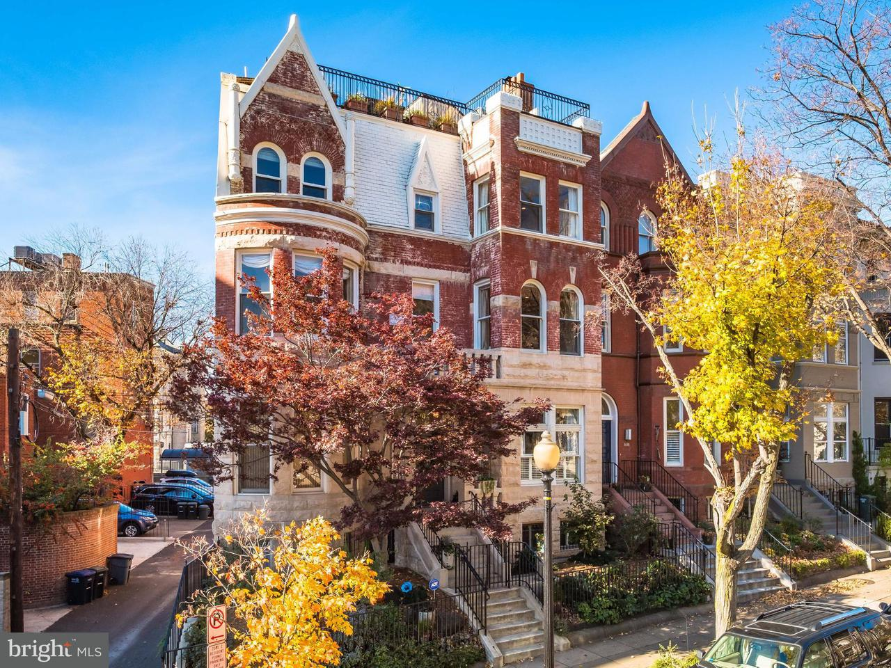 Townhouse for Sale at 1616 22ND ST NW 1616 22ND ST NW Washington, District Of Columbia 20008 United States