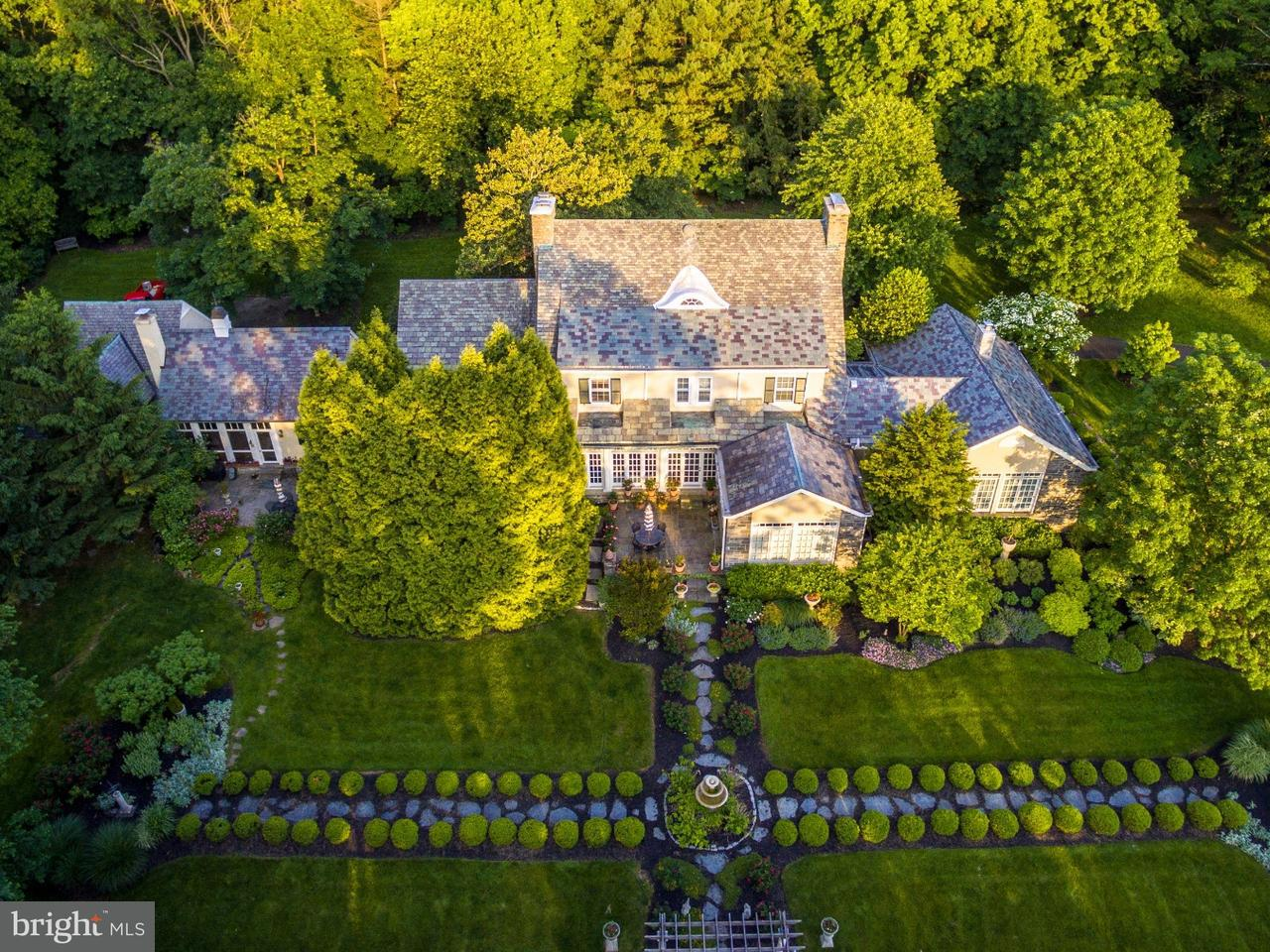 Частный односемейный дом для того Продажа на 1740 MEADOWBROOK Road Meadowbrook, Пенсильвания 19001 Соединенные Штаты
